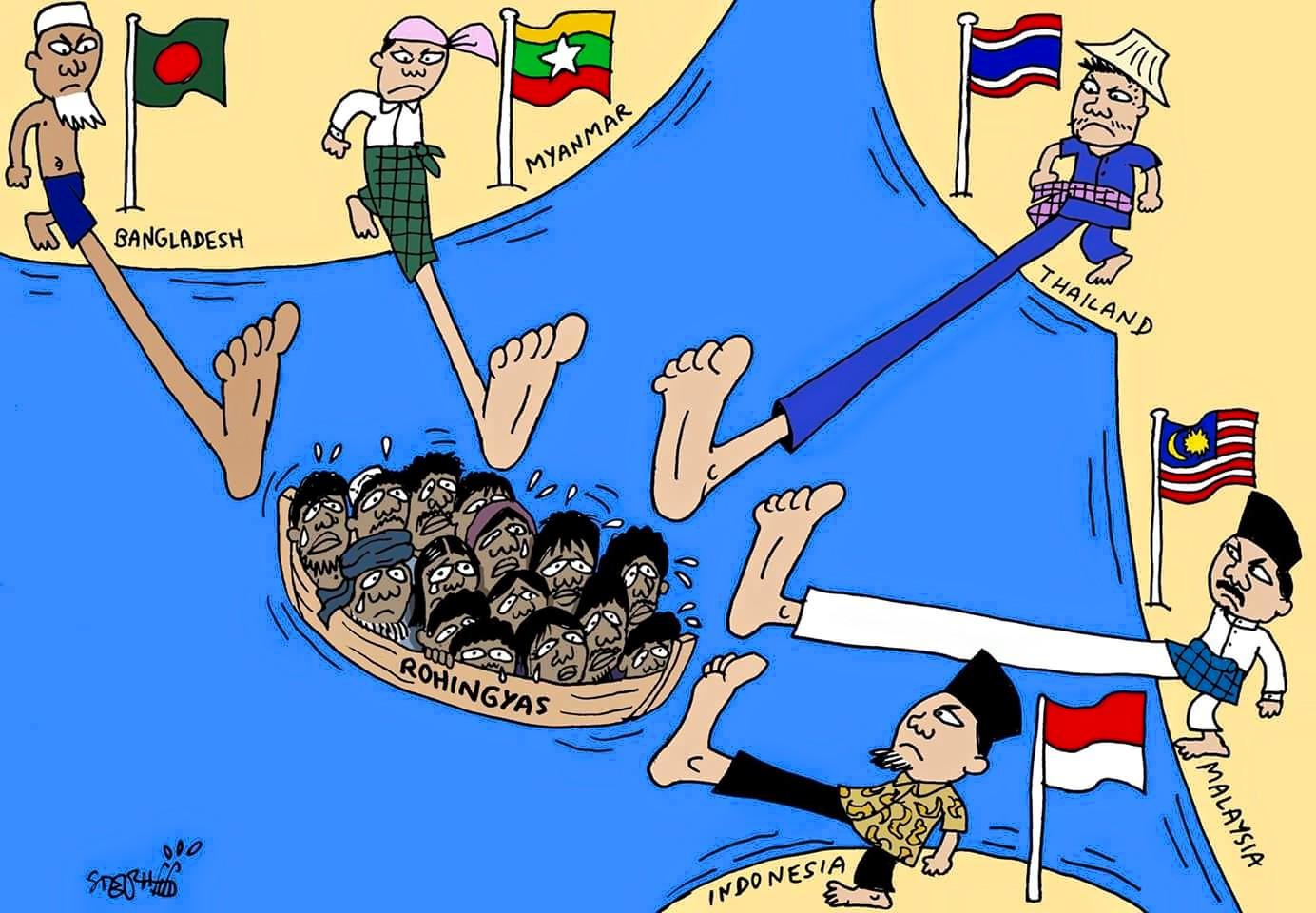 Krisis Kemanusiaan ASEAN Kelaut?