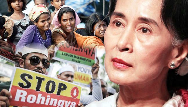 Rohingya & Hipokrisi Aung San Suu Kyi