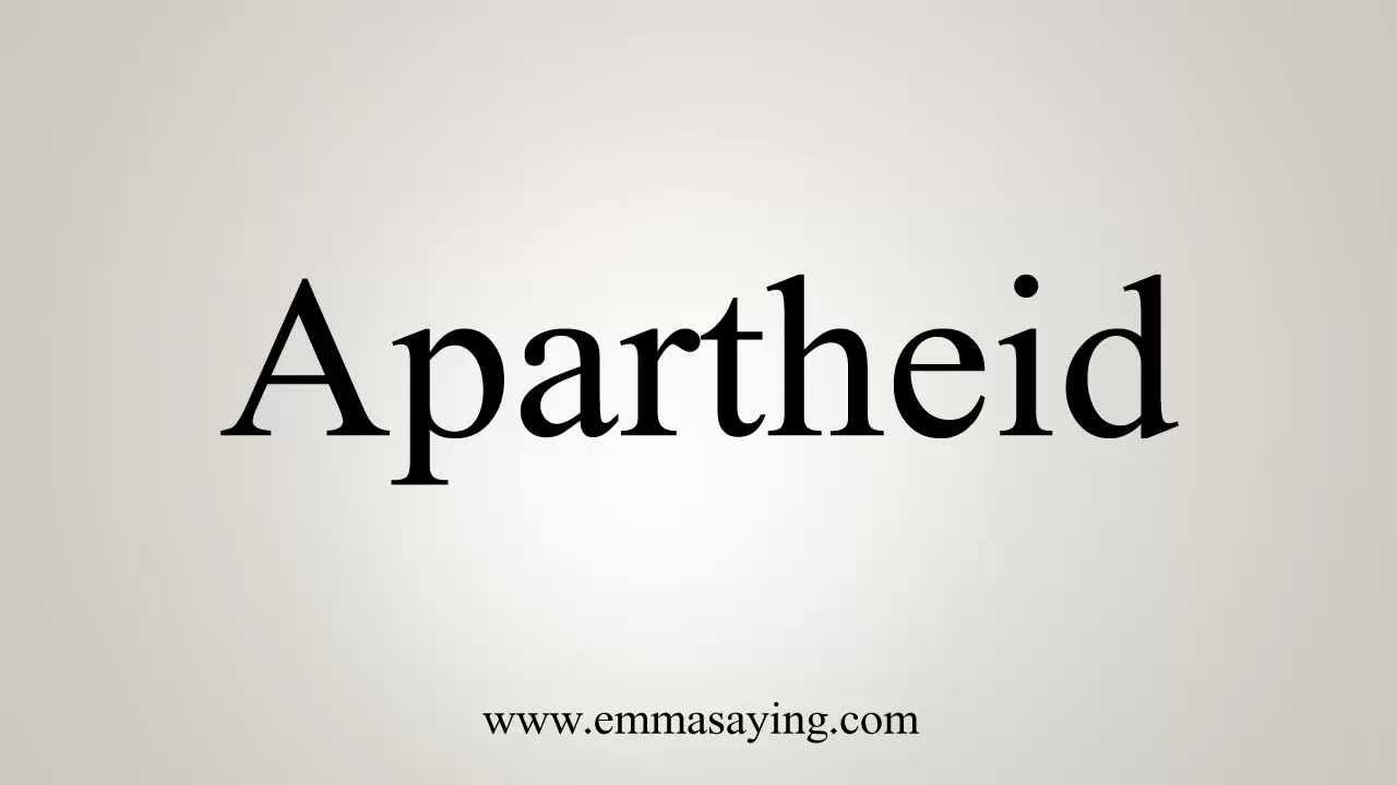 Apartheid Senyap