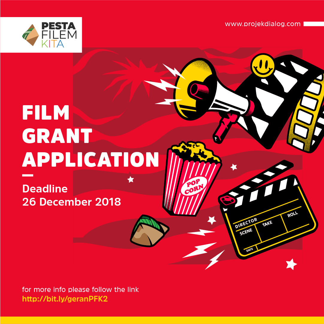ANNOUNCEMENT: Pesta Filem KITA 2 Grant Application