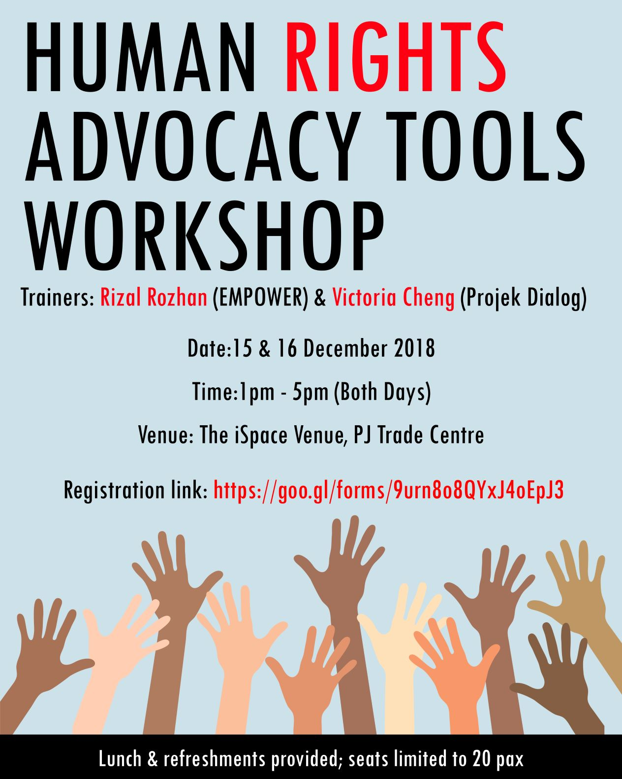 Human Rights Advocacy Tools Workshop